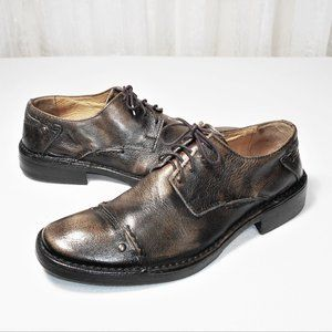 Kenneth Cole Rustic Distressed CapToe Oxford Men 7